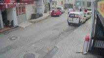 Antalya'da Kameralara Yansıyan Silahlı ve Sopalı Kavga...silahlı ve Sopalı Kavgaya Karıştığı Tespit...