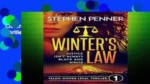 Library  Winter s Law: Talon Winter Legal Thriller #1 (Talon Winter Legal Thrillers)