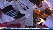 Marseille : la grogne des avocats contre le projet de réforme de la justice