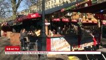 Ambiance au marché de Noël de Bordeaux
