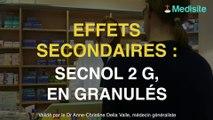 Secnol 2 g, en granulés : des effets gastriques fréquents