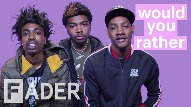 """SOB X RBE replace the national anthem with Keak Da Sneak's """"That Go,"""" resurrect Tupac & more   'Would You Rather' Season 1 Episode 14"""