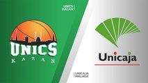 UNICS Kazan - Unicaja Malaga Highlights | 7DAYS EuroCup, RS Round 9