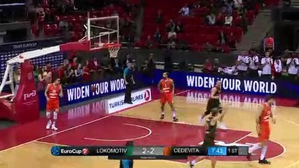 7Days EuroCup Highlights Regular Season, Round 9: Lokomotiv 80-76 Cedevita