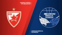 Crvena Zvezda mts Belgrade - Germani Brescia Leonessa Highlights   7DAYS EuroCup, RS Round 9