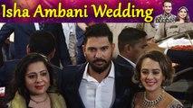 Isha Ambani Wedding: Yuvraj Singh Arrrives with wife Hazel Keech   Boldsky