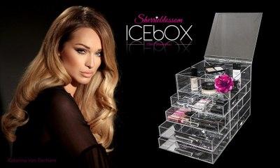 Beauty Room Organization with ICEbOX