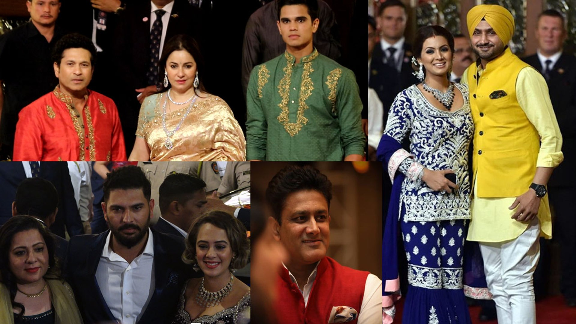 Isha Ambani Wedding: Sachin Tendulkar, Yuvraj Singh & other sports stars who arrived | Filmibeat