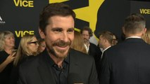 'Vice' Cast Talks Christian Bale's Major Transformation Into Dick Cheney (Exclusive)