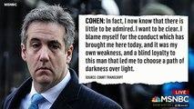"""Michael Cohen Told Me He Got """"Caught Up In A Cult,"""" Close Friend Donny Deutsch Tells MSNBC"""