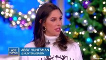 The View's Host Abby Huntsman Calls Trump's Meeting With Pelosi And Schumer 'Pathetic'