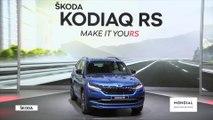 Der ŠKODA KODIAQ RS ist das erste SUV in der sportlichen RS-Familie von ŠKODA