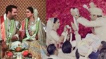 Isha Ambani Wedding: Isha Ambani - Anand Piramal ने Varmala के दौरान की मस्ती, Video |वनइंडिया हिंदी