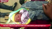Türk Hava Yolları'nın Demokratik Kongo Cumhuriyeti'nden İstanbul'a gelen uçağında bir kadın yolcu kabin ekibinin yardımıyla doğum yaptı.