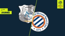 Résumé Amiens SC Montpellier Herault SC (1-2)2018-19