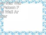 LagunaProject EXTRA LARGE Space Star Wars Millenium Falcon Fantasy Vinyl Wall Art Sticker
