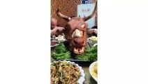 EATING SHOW COMPILATION-CHINESE FOOD-MUKBANG-challenge-Beauty eat strange food-asian food-NO.238