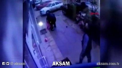 Beşinci kattan düşen çocuğu, zemine çarpmak üzereyken yakaladılar