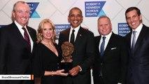 Obama Receives Robert F. Kennedy Human Rights Award