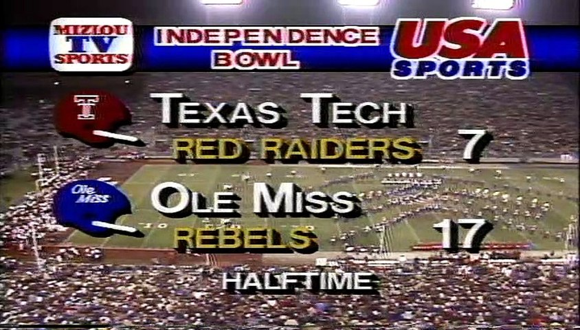Independence Bowl - Texas Tech vs. Ole Miss