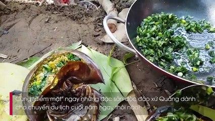 Dắt tay nhau đến với Quảng Ninh tháng 12 để thưởng thức vô vàn món ngon độc đáo