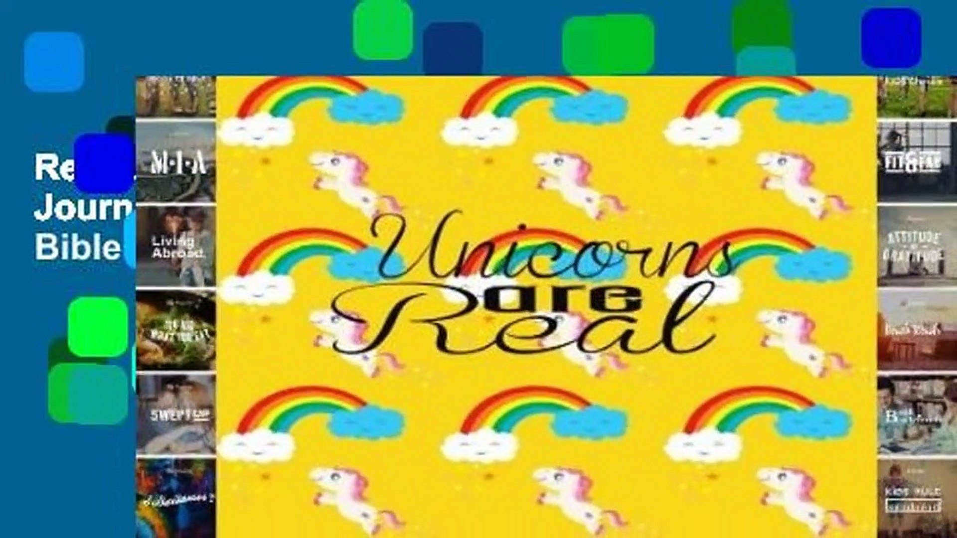 Readinging new Unicorns Are Real: Unicorn Journal Notebook Quotes Notebook,Quotes Journal, Bible