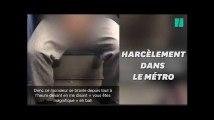 Une jeune femme filme son harceleur dans le métro parisien