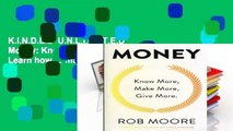 K.I.N.D.L.E  U.N.L.I.M.I.T.E.D  Money: Know More, Make More, Give More: Learn how to make more