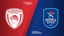 Olympiacos Piraeus - Anadolu Efes Istanbul Highlights | Turkish Airlines EuroLeague RS Round 12