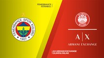 Fenerbahce Istanbul - AX Armani Exchange Olimpia Milan Highlights | Turkish Airlines EuroLeague RS Round 12