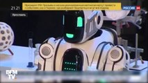 Une télévision russe confond un robot avec un costume