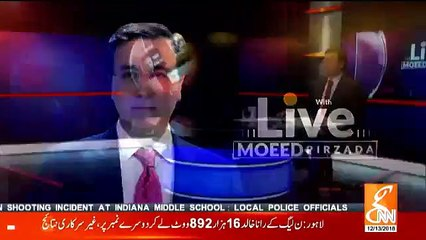 Live With Moeed Pirzada - 13th December 2018