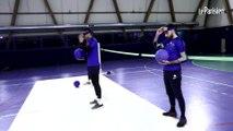 Les gardiens du Paris FC font du goalball