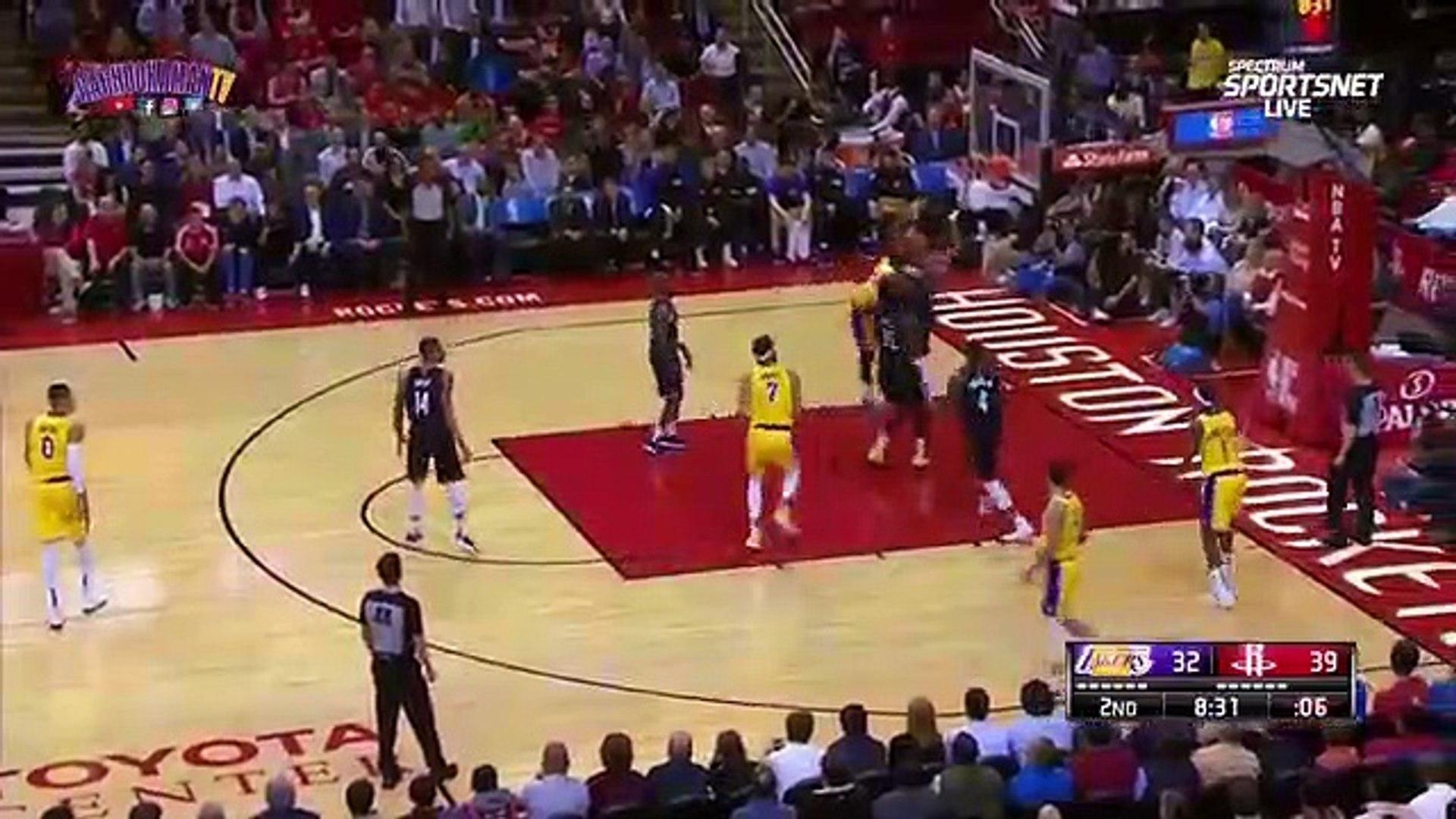 1st Half Team Highlights   Lakers vs Rockets   December 13, 2018[1]