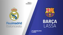 Real Madrid - FC Barcelona Lassa Highlights | Turkish Airlines EuroLeague RS Round 12