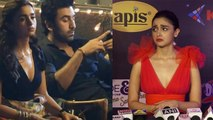 Alia Bhatt reveals the reason why she looked sad with Ranbir Kapoor in viral picture;   FilmiBeat