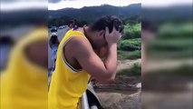 Ce jeune fait tomber son téléphone au mauvais endroit et risque de ne jamais le revoir !