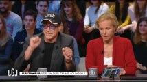 """Van Damme, ingérable, donne des leçons à Ockrent et trolle """"Le Grand Journal"""""""