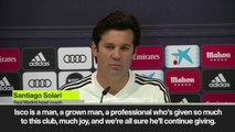 Eng Sub: 'Grown man Isco' impresses Solari despite 'crisis' rumours over playing time