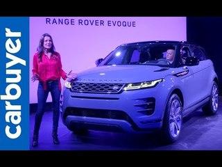 Range Rover Evoque 2019 first look - Carbuyer