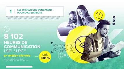 Les opérateurs s'engagent pour l'accessibilité (6e bilan Charte)