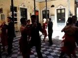 Tango Pasión en tournage à Buenos Aires avant son show à Niort