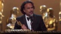 """Oscar du meilleur réalisateur pour Iñarritu avec """"The Revenant"""""""