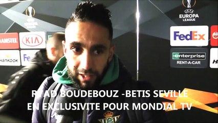 Boudebouz : «Belmadi est l'homme de la situation»