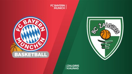 EuroLeague 2018-19 Highlights Regular Season Round 12 video: Bayern 88-84 Zalgiris