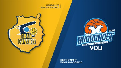EuroLeague 2018-19 Highlights Regular Season Round 12 video: Gran Canaria 95-85 Buducnost