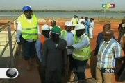 ORTM/Visite du Ministre de l'Energie et de l'Eau sur le chantier de Kabala pour l'alimentation en eau potable