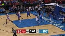 Dusty Hannahs (21 points) Highlights vs. Oklahoma City Blue