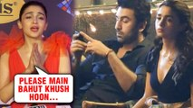 Alia Bhatt REACTS To Her SAD Photo With Ranbir Kapoor On Brahmastra Set