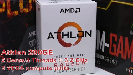 Gaming on the AMD Athlon 200GE. Low-Cost CPU Can Play, Even in 4K